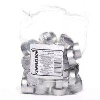Свечи CHAMELEON чайные в гильзе 50 шт 1,5 см без запаха MNC00-13