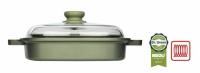 Пароварка-гриль Risoli Dr Green 26 см литая со стеклянной крышкой 0091QDRIN/26