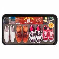 Лоток для обуви 63,5х35,4*1,3 см черный VORTEX