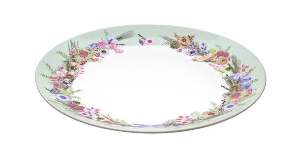 Тарелка обеденная CROWN OF FLOWERS 25см