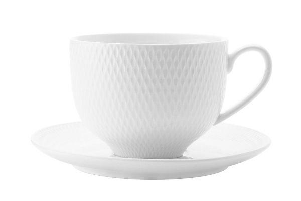 Чашка с блюдцем Даймонд без индивидуальной упаковки, MW688-DV0028