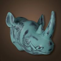 Декор ROOMERS «Голова носорога» 4430