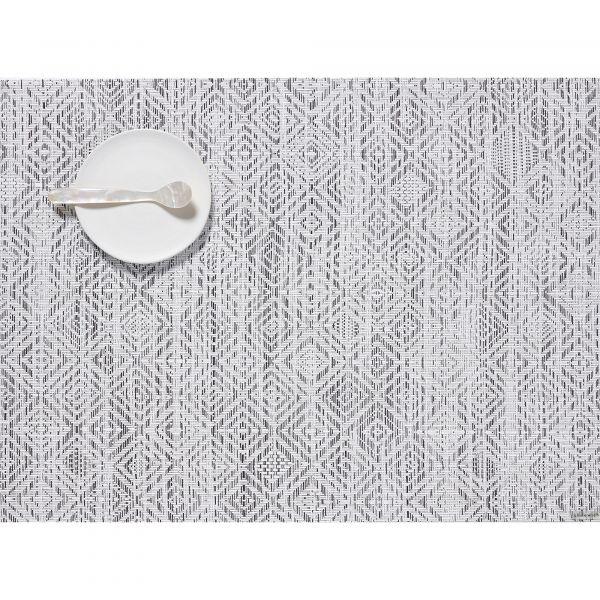Салфетка Chilewich MOSAIC подстановочная материал винил 36x48 см White/Black 100435-003