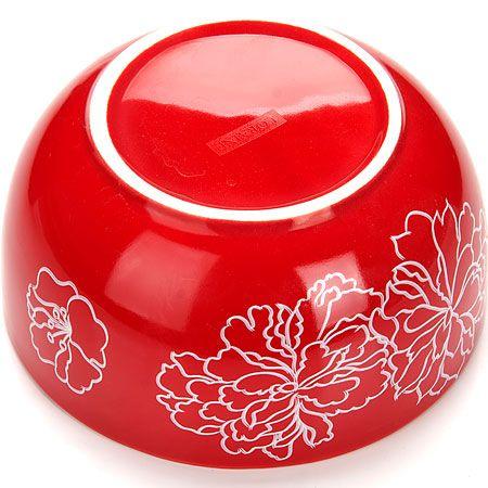 """Чаша-супница 580 мл """"Красный узор"""" Lorain, 25833"""