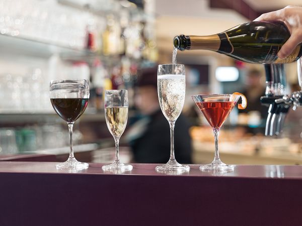 Бокал для вина happy hour 300 мл 23490100