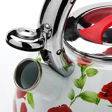 Чайник 3,5 л со свистком, покрытие из эмали Mayer&Boch, 23852