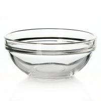 Салатник из закаленного стекла ШЕФ, диаметр 120 мм