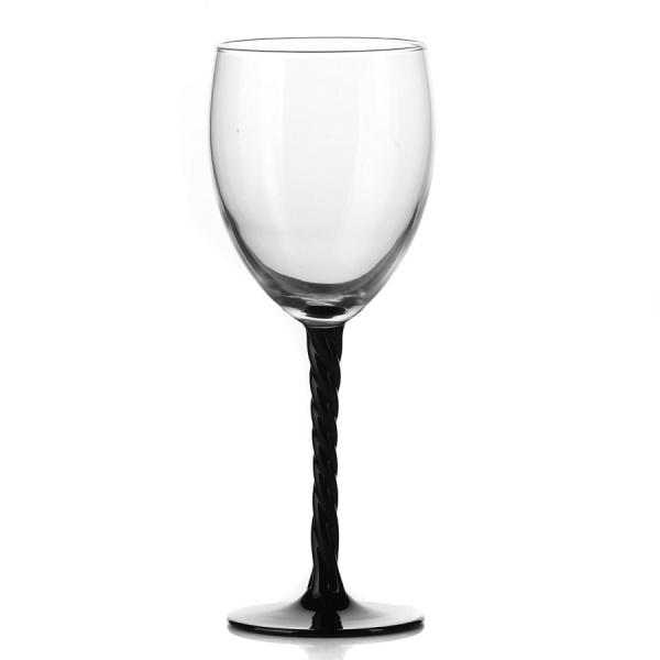 Набор фужеров для вина ОТАНТИК БЛЭК, 3 штуки, объем 310 мл