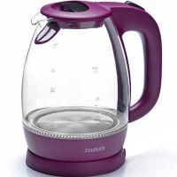 Электрический чайник стекло 1,7л 2200Вт ZIMBER, 11176