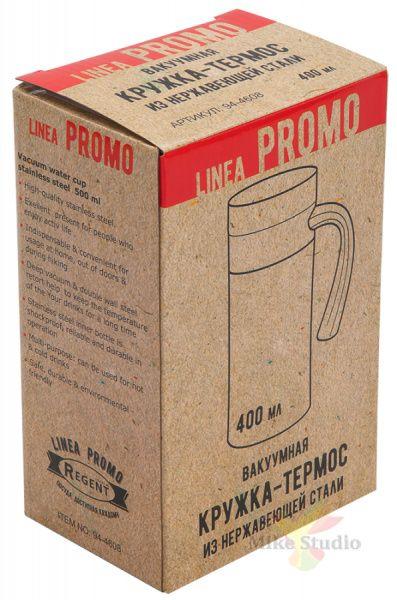 Кружка-термос 0,4л Linea PROMO Regent Inox 94-4608