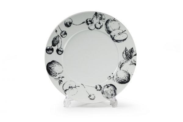 Тарелка, широкий борт 27 см, La Rose des Sables, серия BLACK APPLE, 830127 2241