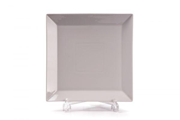 Тарелка квадратная 24 см, Tunisie Porcelaine, серия SENATEUR