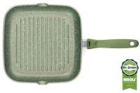 Литая сковорода-гриль Risoli Dr Green Induction 26 см, 0094BDRIN/26