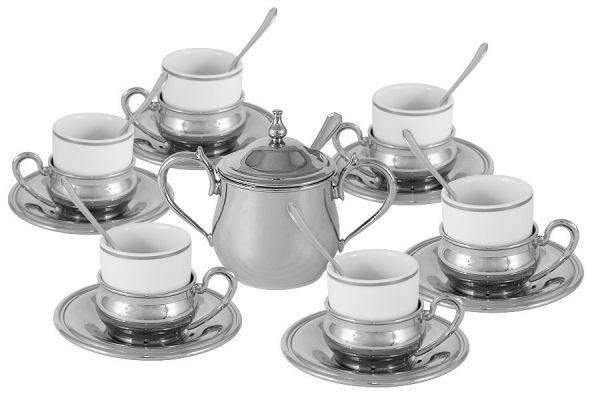 Кофейный набор на 6 персон Экстра-люкс, GA20591AL