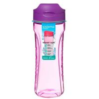 Бутылка для воды тритан 600 мл SISTEMA, 640