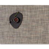 Салфетка Chilewich BASKETWEAVE подстановочная жаккардовое плетение материал винил 36x48 см Bark 0025-BASK-BARK