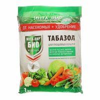 Биолигическое удобрение и инсектицид Инта-Вир ТАБАЗОЛ 1кг