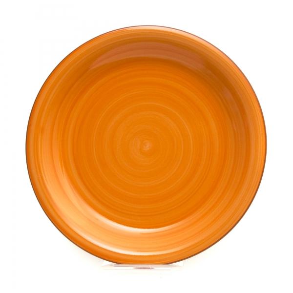 Тарелка обеденная ORANGE COLORS 25 см
