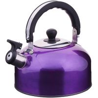 Чайник из нержавеющей стали 2,3 л со свистком без упаковки Mayer&Boch, ВК002ф