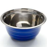Миска синяя 24 см из нержавеющей стали Mayer&Boch, 30217N2