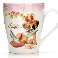 Кружка 340 мл «Собака» в подарочной упаковке LORAINE, 26568