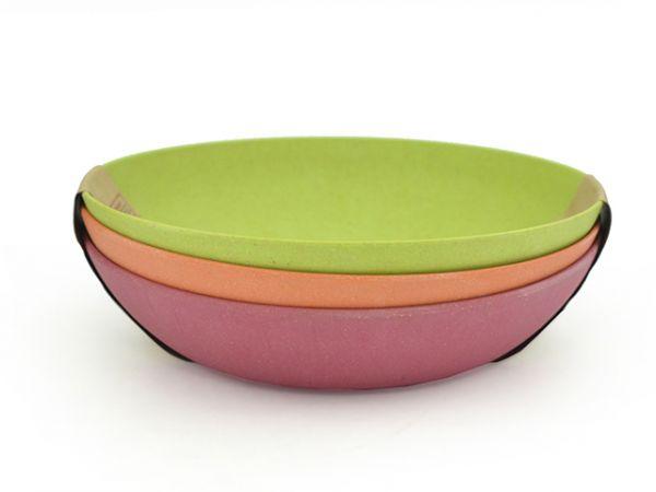 Набор из 3 глубоких тарелок 20 см FISSMAN, 7158