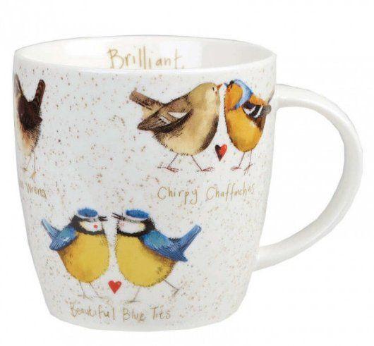 Кружка Churchill Алекс Кларк «Счастливые птицы» 400 мл ALCK10441