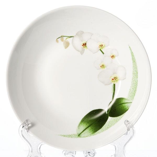 Тарелка суповая УАЙТ ОРИХИД 20 см