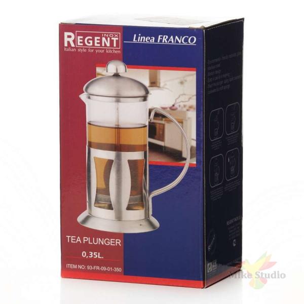 Френч-пресс 0,35 л Regent Inox 93-FR-09-01-350