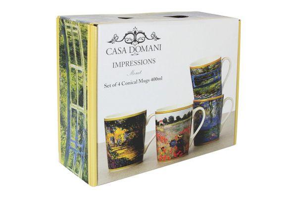Набор кружек Casa Domani Моне 4 шт в подарочной упаковке CD637-DB0020