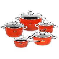 Набор посуды KOCHSTAR из 5-ти предметов, цвет оранжевый NEO Orange, ORANGE-3