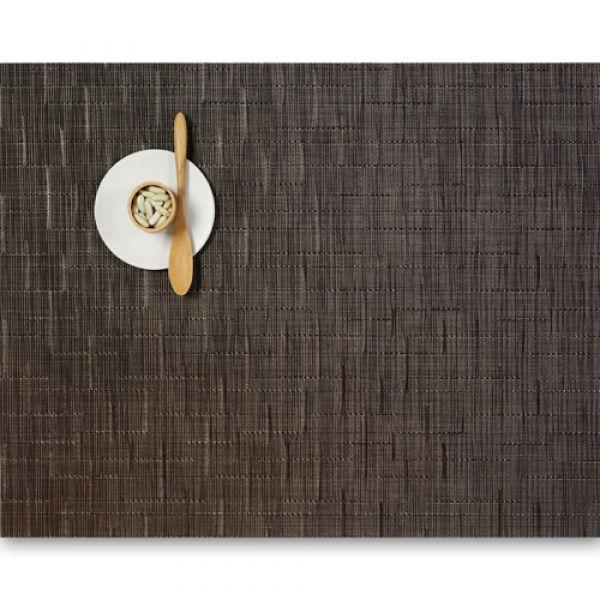 Салфетка Chilewich BAMBOO подстановочная жаккардовое плетение материал винил 36x48 см Chocolate 0025-BAMB-CHOC