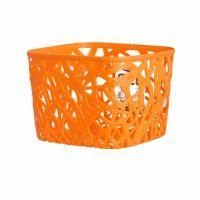 Корзинка квадратная оранжевая NEO COLORS S