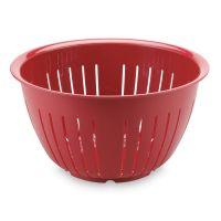 """Дуршлаг """"Олимпия"""" 4,3 л, 23 см, цвет красный, серия Plastic tools, Westmark"""