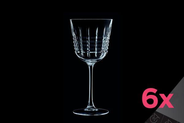 Набор бокалов для вина CRISTAL D»ARQUES RENDEZ-VOUS 6 шт 350 мл L8235