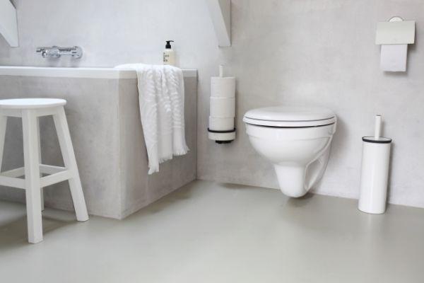 Держатель для туалетной бумаги Brabantia 38,3x14x15,5 см цвет белый 483448