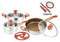 Набор посуды из 7 предметов Vitesse VS-2024