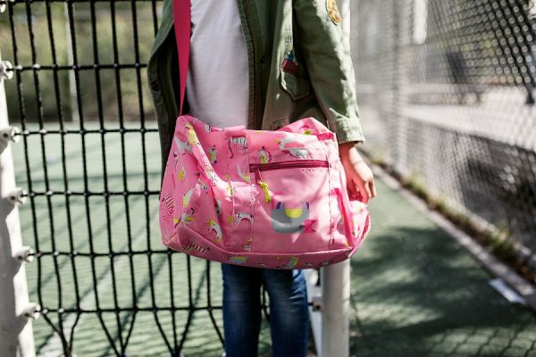 Сумка складная детская dufflebag abc friends pink IH3066