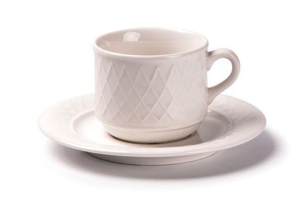 Чайная пара 210 мл, Tunisie Porcelaine, серия GRAND SIECLE