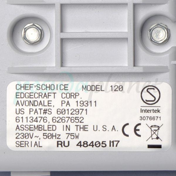 Электрическая точилка для ножей (ножеточка) Chef's Choice CC120W (CH/120)