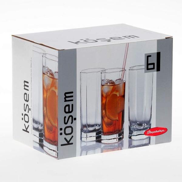 Набор стаканов KOSEM 6 шт. 264 мл (коктейль)
