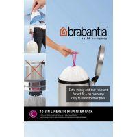 Пакет пластиковый Brabantia 10/12 л 40 шт 361982