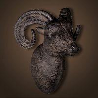 Декор ROOMERS «Голова барана» 25x30x38 см 4457