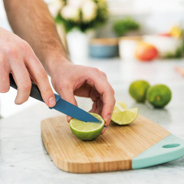 Нож для очистки BergHOFF Leo 8,5 см цвет синий 3950105
