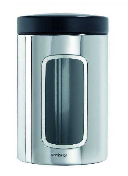 Контейнер Brabantia для сыпучих продуктов с окном 1,4 л 132803