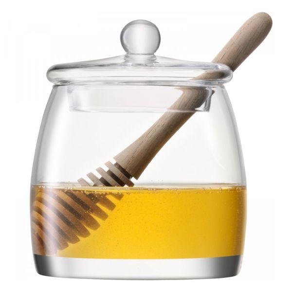Банка для мёда serve с деревянной ложкой G1052-12-301