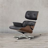 Кресло Eames Lounge EC-015/YM2037 walnut