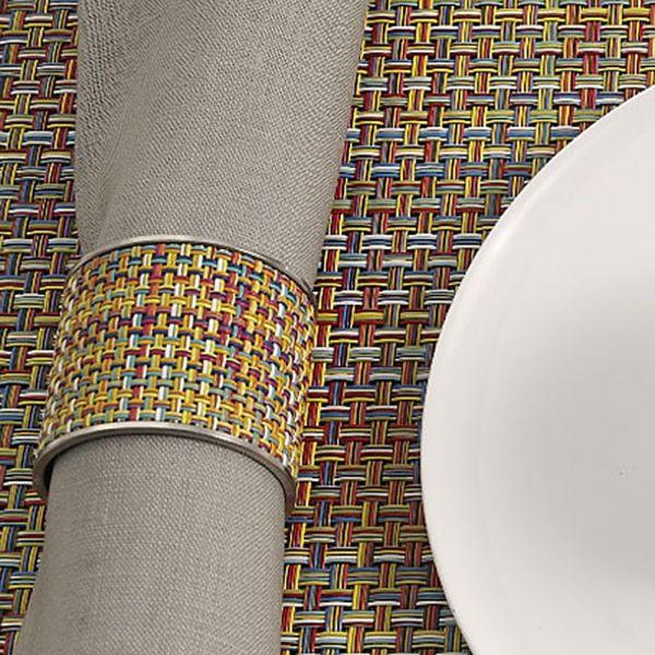 Салфетка подстановочная, винил, 36х48, серия Basketweave, CHILEWICH