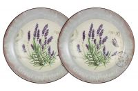 Набор из 2-х суповых тарелок Лаванда, AL-80E2256-L-LF