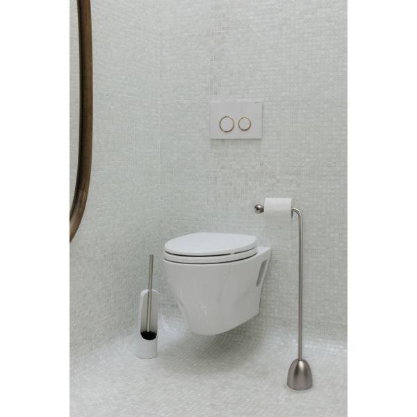 Держатель для туалетной бумаги Heron никель 1012486-410